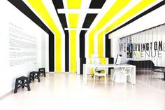 Bright office interiors #office #architecture