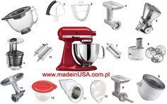 Kitchenaid mixer and all attachments www.madeinusa.com.pl