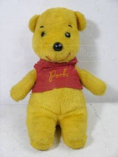 My favorite childhood toy.  Got it when I was 4 & slept with it until I got married.  How I love Winnie the Pooh:-)