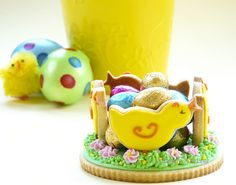 Easter Cookies and Easter Eggs
