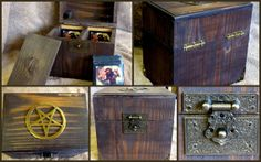 Magic  The Gatherind Deck Box by ChetsKentuckyCrafts on Etsy, $50.00