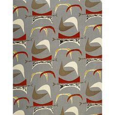 Mahler designed fabric