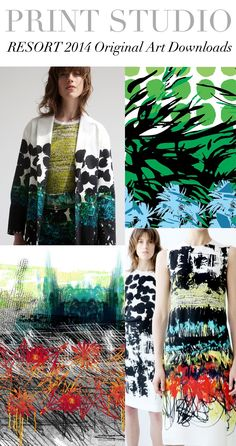 TREND COUNCIL- Resort 2014 #print direction
