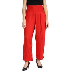 Smart and Glam; Palazzo for Womens; Reguler Fit; Red Trou... http://www.amazon.in/dp/B01IKZCOFK/ref=cm_sw_r_pi_dp_PzHJxb10ZMS5C