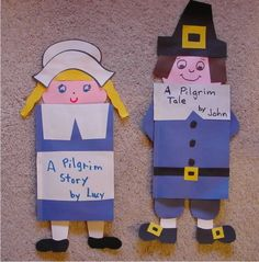 Write a story from a pilgrim point of view.