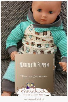 Nähen für Puppen – hier findest du tolle Schnittmuster für deine Puppenkollektion