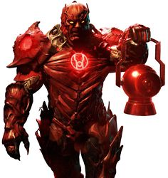Red Lantern Atrocitus - Transparent Background! by Camo-Flauge