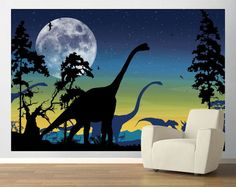 dinosaur wall decal  www.wallstickeroutlet.com