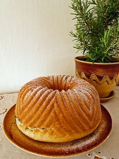 Bunt Cakes, 3d Cakes, Cupcake Cakes, Sweet Factory, Czech Recipes, Sweet Desserts, Desert Recipes, Pound Cake, Sweet Tooth