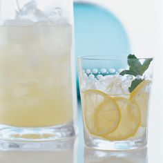 Limoncello Collins   The Collins was most likely named after 19th-century bartender John Collins of London's Limmer's Hotel. The Tom Collins was originally made with Old Tom, a sweet style of gin that's extremely hard to find today.