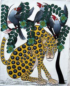 Tinga Tinga art of Tanzania