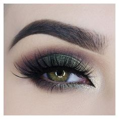 Smokey Eye Looks In 10 Gorgeous Shades ❤ liked on Polyvore featuring beauty products, makeup, eye makeup and eyes