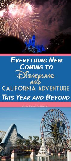 There's a lot of exciting things happening in Disneyland and California Adventure in Check out the attraction and show updates! Disney World Vacation, Disney Vacations, Disney Trips, Vacation Trips, Disney Travel, Disney Parks, Spring Vacation, Orlando Vacation, Family Vacations