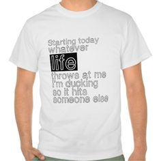 Funny Life Quotes T-shirt Design