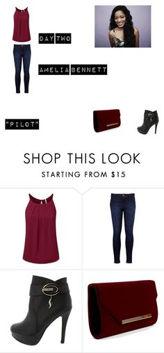 """Amelia Bennett Worlds Colliding (The Vampire Diaires) 1.01 ""Pilot"""" by jdefloria on Polyvore featuring Levi's"
