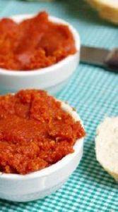 Paté crudo de tomates secos