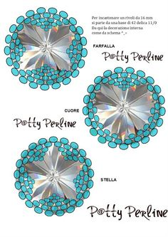 P @ tty Beads: Peyote Pattern