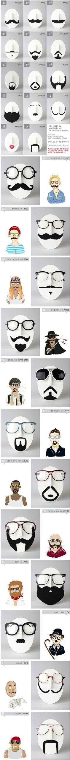 Glasses shelf - brilliant marketing/display