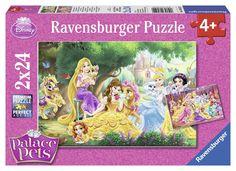 Ravensburger Puzzle - Disney Princess Palace Pets (2X24pcs.) (08952)  Manufacturer: Ravensburger Enarxis Code: 015981 #toys #puzzle #Ravensburger #Disney #princess #pets