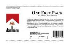 CIGARETTE COUPONS ... Engine results for free pack of marlboro coupon ...