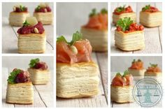 Verjaardagshapjes: 5x Luxe hartige minipasteibakjes | Bakkriebels Tapas, Savory Muffins, Snacks Für Party, Quiche, Good Food, Fun Food, Sandwiches, Brunch, Food And Drink