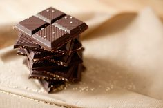 dark chocolate squares food sweets chocolate desert