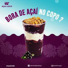 Logo Açaí, Best Acai Bowl Recipe, Acai Recipes, Yogurt Bar, Ben And Jerrys Ice Cream, Sushi, Kombucha, Milkshake, Food Truck