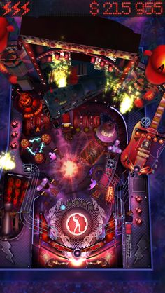 AC/DC Pinball Rocks for iPhone 5: Can you light up all of the fireworks on the 4 inch retina screen? #acdc #pinball #rocks #iphone #retina