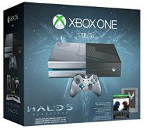 Xbox One 1TB Console - Limited Edition Halo 5: Guardians Bundle