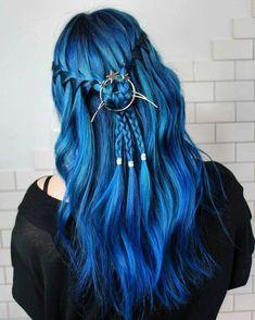 Uhren & Schmuck Modeschmuck Glorious 2 Süße Schöne Kleine Haarklammer In Glitzer Blau Neu