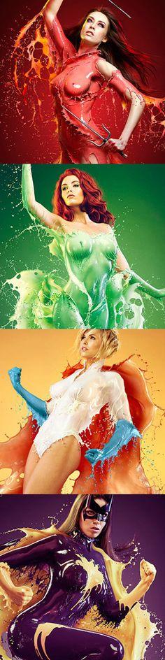 Jaroslav Wieczorkiewicz creates amazing images with milk