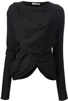 Givenchy ~ Draped Top