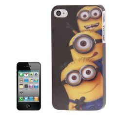 Coque Plastique Minions (5) iPhone 4 & 4S