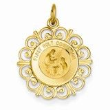 14k Gold First Holy Communion Charm