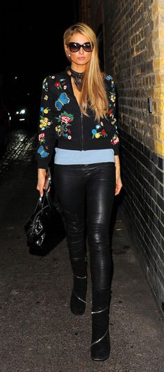 Paris Hilton sighting in London