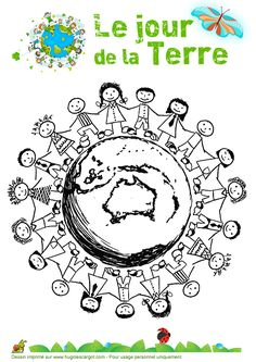 With all the increased pollution our delicate world sees, it's becoming more and more important to go green and live a more eco-friendly lifestyle. Grade 1 Art, Learn To Speak French, French Worksheets, 5th Class, Earth Day Crafts, Earth Day Activities, World Environment Day, Teaching French, Save The Planet