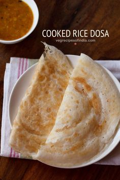 Instant Dosa Recipe made with Cooked Rice - These crisp rice dosa are made with . Instant Dosa Recipe made with Cooked Rice - These crisp rice dosa are made with leftover rice. Making Dosa fr Cooked Rice Recipes, Leftover Rice Recipes, Fried Fish Recipes, Leftovers Recipes, Veg Recipes, Indian Food Recipes, Snack Recipes, Cooking Recipes, Cooking Tips