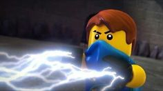 Ninjago Tournament of Elements That show Jay's real power.. Lightning