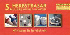 Kathrins Papier ist dabei: Herbstbasar in der St.Usrula-Schule Hannover