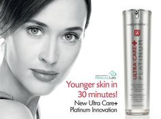 Ultra Care+ Platinum Tight Firm & Fill face Serum http://www.nutrimetics.com.au/kelinewlove For noticeably youthful complexion within minutes!!
