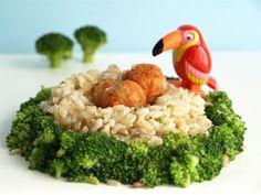 Ricette per bambini: polpette di riso con i broccoli