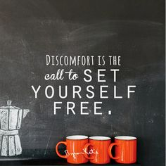 Discomfort is the call to set yourself free. via The Work of Byron Katie. Daring Greatly, How High Are You, Byron Katie, Soul Searching, Set You Free, Word Porn, Good Advice, Positive Thoughts, Thought Provoking
