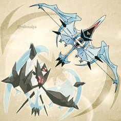 Pokemon Ultra Moon - Dawn Wings Necrozma  https://www.instagram.com/rebusalpa