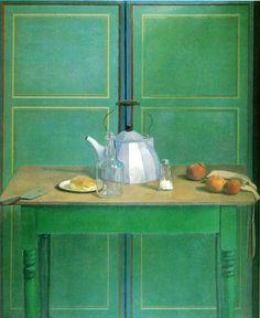 ◇ Artful Interiors ◇ paintings of beautiful rooms - Lennart Anderson