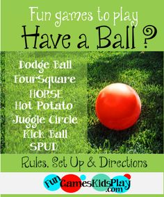 1000+ images about Fun Games Kids Play on Pinterest