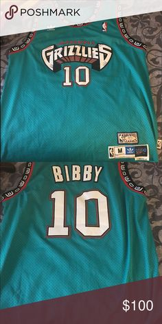 a45f7d494b2 Vancouver Grizzyls Adidas Hardwood Classic Jersey This is a vintage  hardwood classic Adidas Vancouver grizzly Basketball Jersey Mike Bibby  Edition .