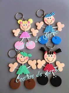 kids in fun foam Foam Crafts, Diy And Crafts, Crafts For Kids, Arts And Crafts, Paper Crafts, Do It Yourself Home, Creative Crafts, Handicraft, Art For Kids