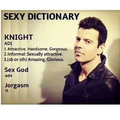 Jordan Knight Sexy Dictionary