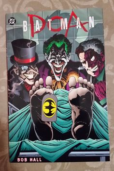 Cover for Batman Hors Série (Semic S. Batman Superman Comic, Joker Comic, Joker Art, Batman Comics, Batman And Superman, Comic Art, Dc Comics, Joker Two Face, Batman Eternal