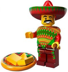 LEGO Minifigure Collection LEGO Movie Series LOOSE Taco Tuesday Guy (738076846146) LEGO Minifigure